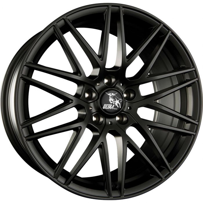 ULTRA WHEELS UA1 8X17 5X108 ET40 72.6 FLAT BLACK   M+S
