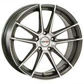 MOTEC RADICAL 8X18 5X108 ET40 72.6 DARK GREY POLISHED MCT10