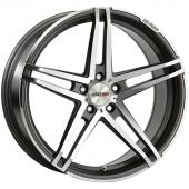 MOTEC XTREME 8.5X20 5X108 ET42 72.6 DARK GREY POLISHED MCT7