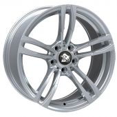 ULTRA WHEELS UA11 9.5X20 5X120 ET35 72.6 SILVER   M+S