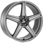 ULTRA WHEELS UA7 8.5X20 5X112 ET45 66.5 SILVER   M+S