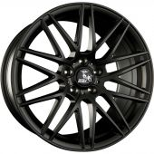 ULTRA WHEELS UA1 8.5X18 5X120 ET35 72.6 FLAT BLACK   M+S