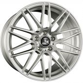 ULTRA WHEELS UA1 8.5X19 5X114.3 ET40 72.6 SILVER   M+S