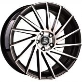ULTRA WHEELS UA9 8X18 5X120 ET45 72.6 GUNMETAL POLISHED  KBA-51184