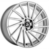 ULTRA WHEELS UA9 8.5X20 5X120 ET35 72.6 SILVER   M+S
